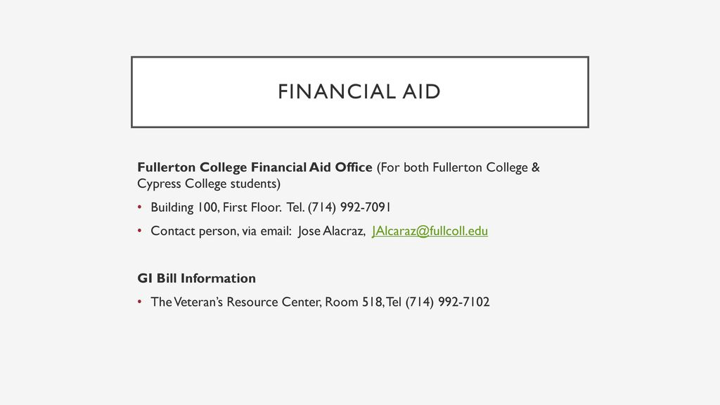 Fullerton College Financial Aid >> Summer 2018 June 16 July 15 Nocccd Fullerton College
