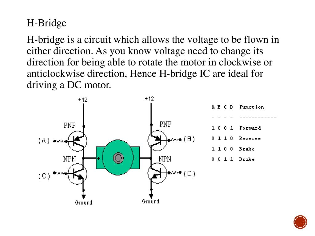 Color Coding Of Resister Ppt Download H Bridge Circuit Diagram With Forward Reverse 29