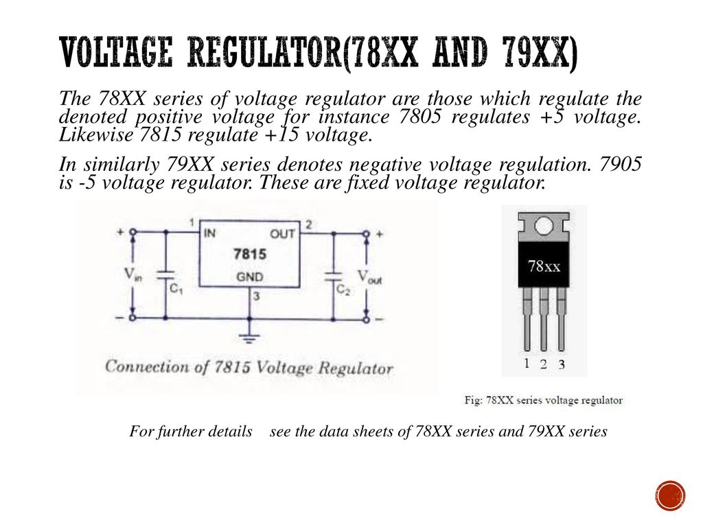 Color Coding Of Resister Ppt Download Levels 78xx Series Ics May Be Employed With The Above Explained Power Voltage Regulator78xx And 79xx