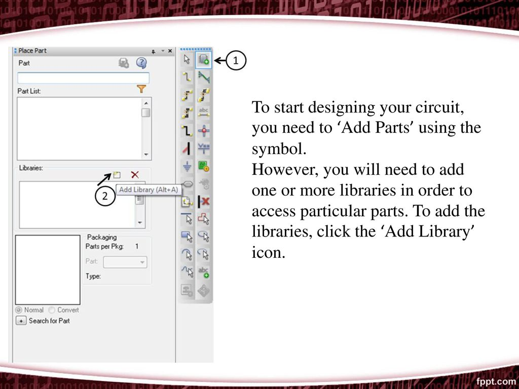 Circuit For You Orcad Pspice Ppt Download To Start Designing Your Need Add Parts Using The Symbol
