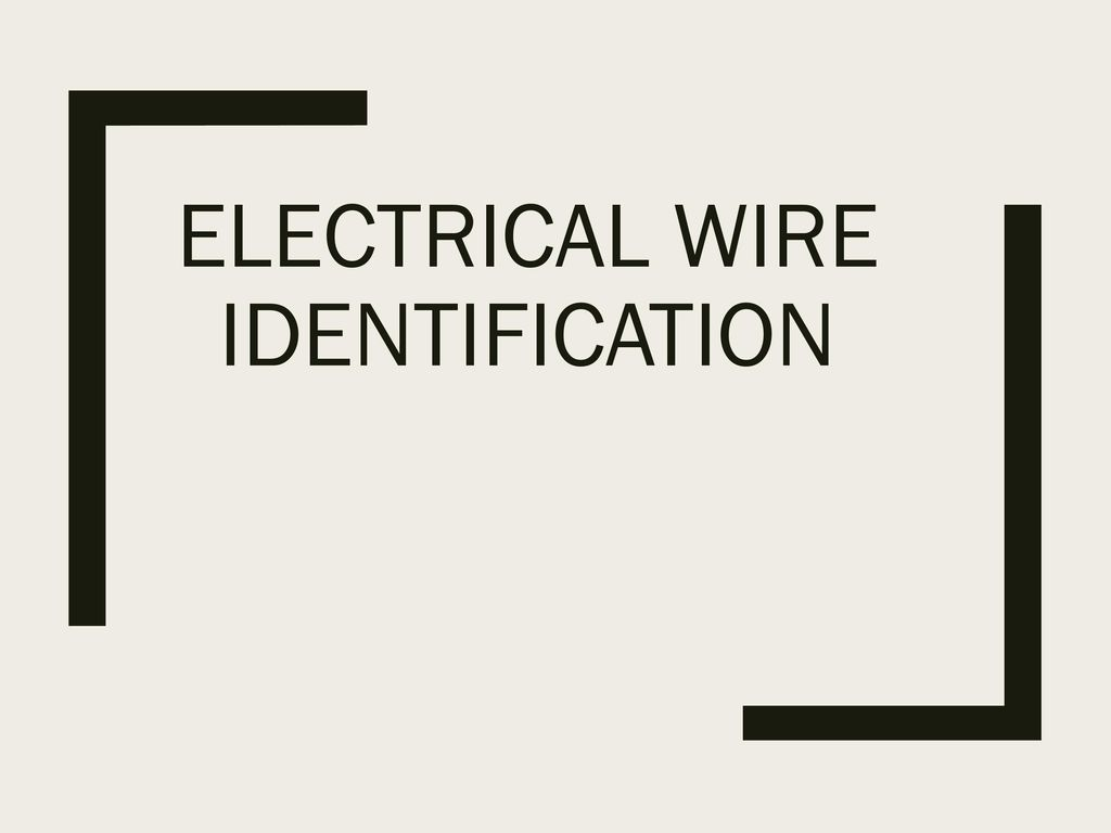 Electrical Wire Identification Ppt Download Wiring Templates Powerpoint Template Presentation On Theme Transcript 1