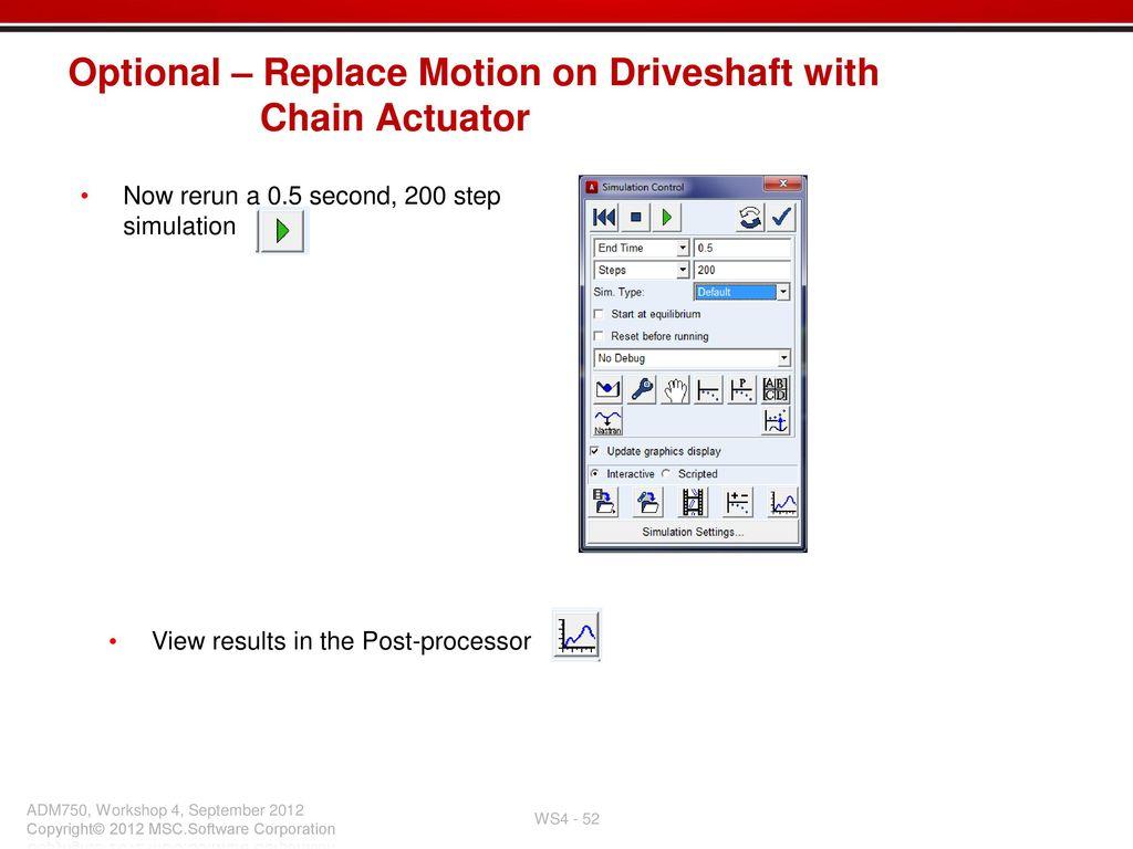 Workshop 4 Chain System Workshop - ppt download