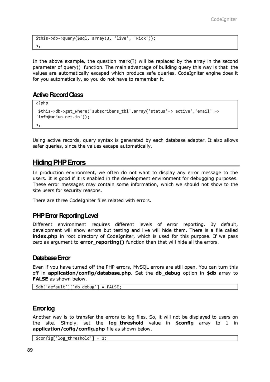 1  CodeIgniter – Overview - ppt download