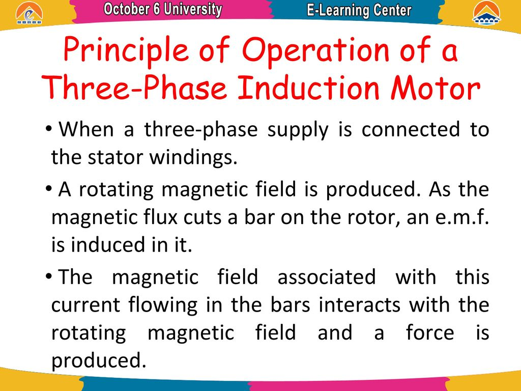 Electric Machine Induction Motor Ppt Download Stator Voltage Control Of Three Phase Fed By Principle Operation A