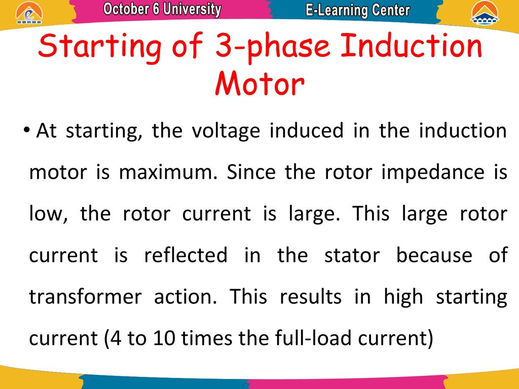 Electric Machine Induction Motor Ppt Download Stator Voltage Control Of An Circuit Globe Starting 3 Phase