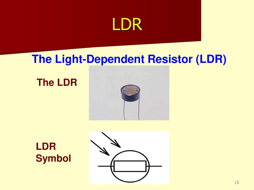 Electronics Learning Objective To Know How The Thermisistor Works Ldr Light Dependent Resistors Resistor