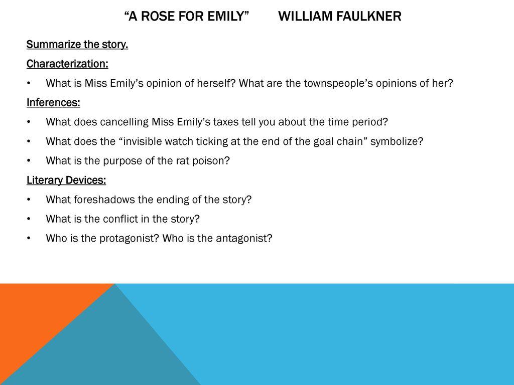 a rose for emily ending