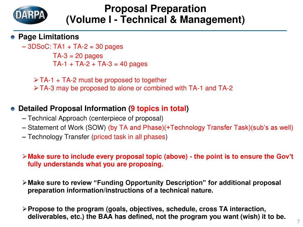 technical proposal topics
