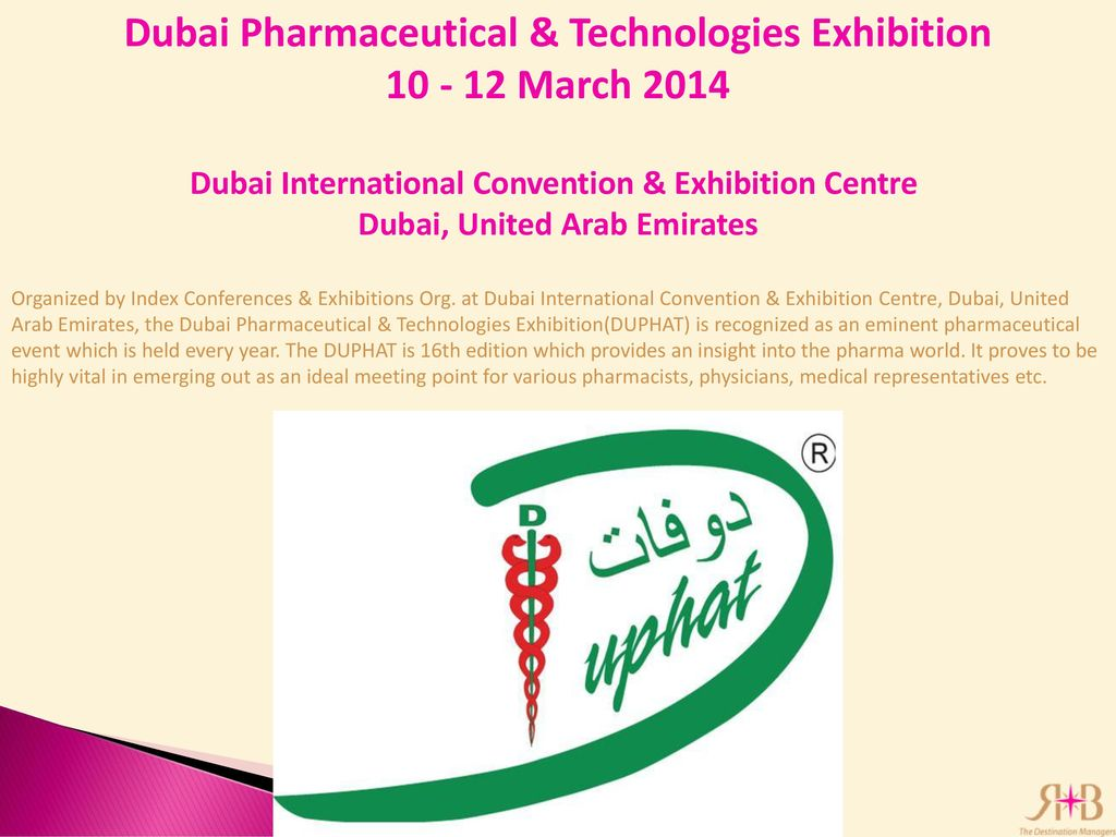 Pharma Events Abu Dhabi/ Dubai - ppt download