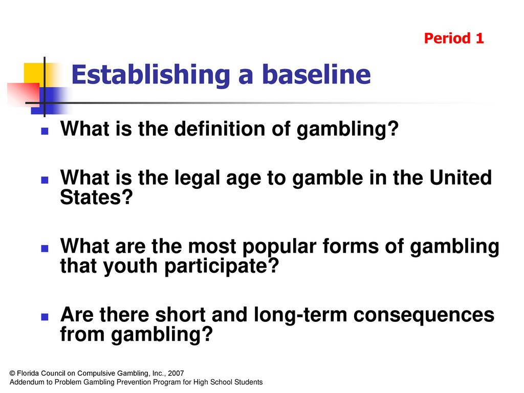 What is the legal gambling age in florida video poker caveman keno