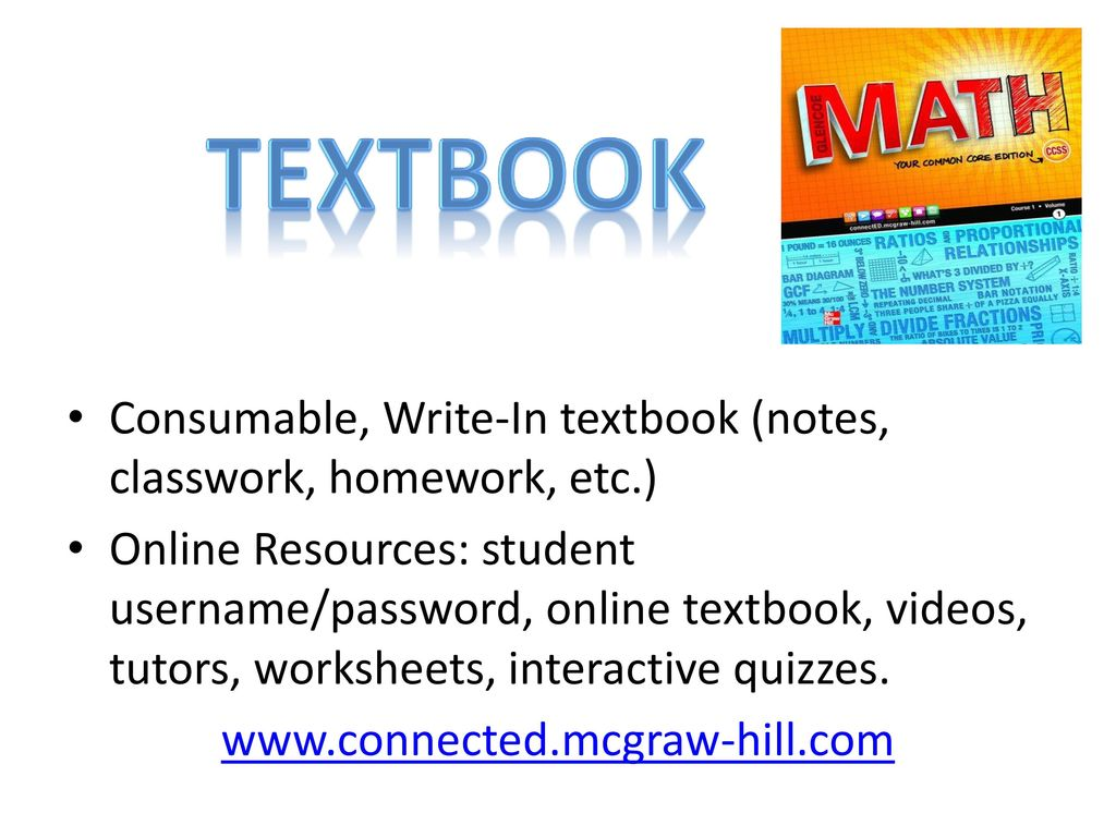 Welcome To 6th Grade Math Ppt Download