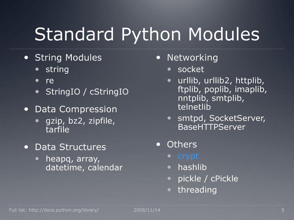 Python Bryce Boe  - ppt download