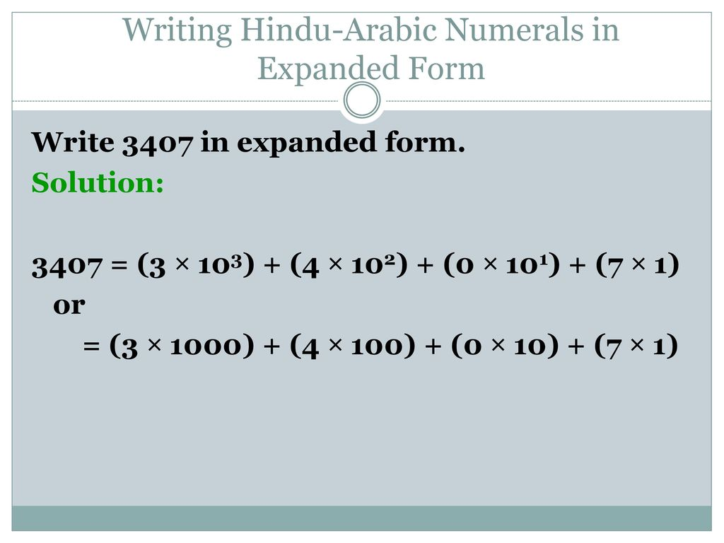 Chapter 4 Number Representation And Calculation Ppt Download