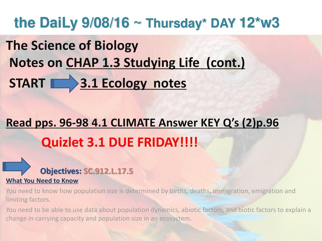 Biology * Honors Biology* - ppt download