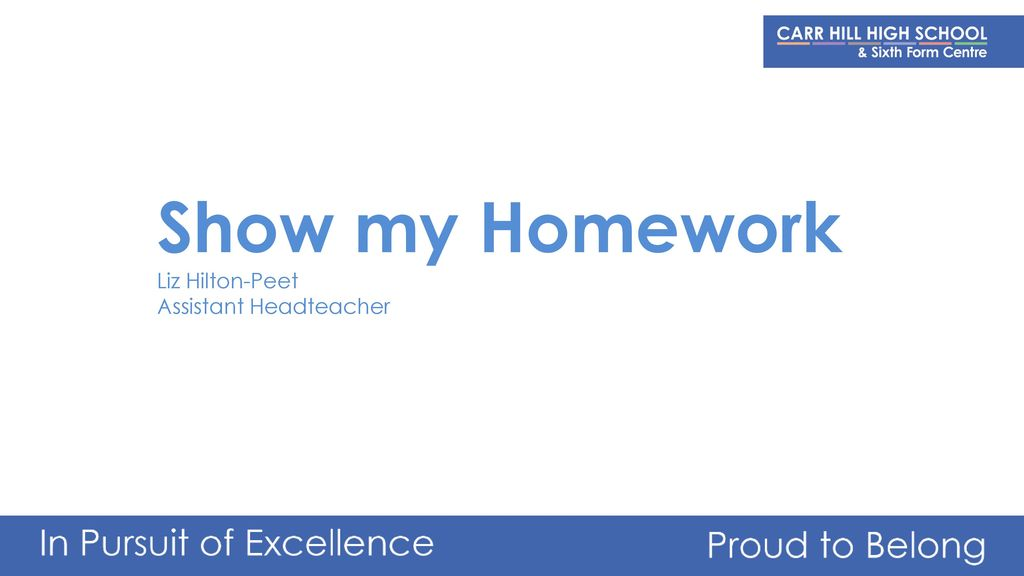 show my homework lowton high school
