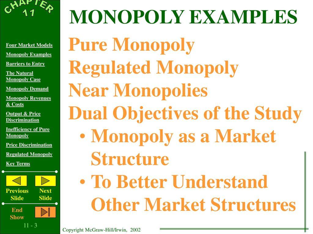 11 C H A P T E R Pure Monopoly Ppt Download