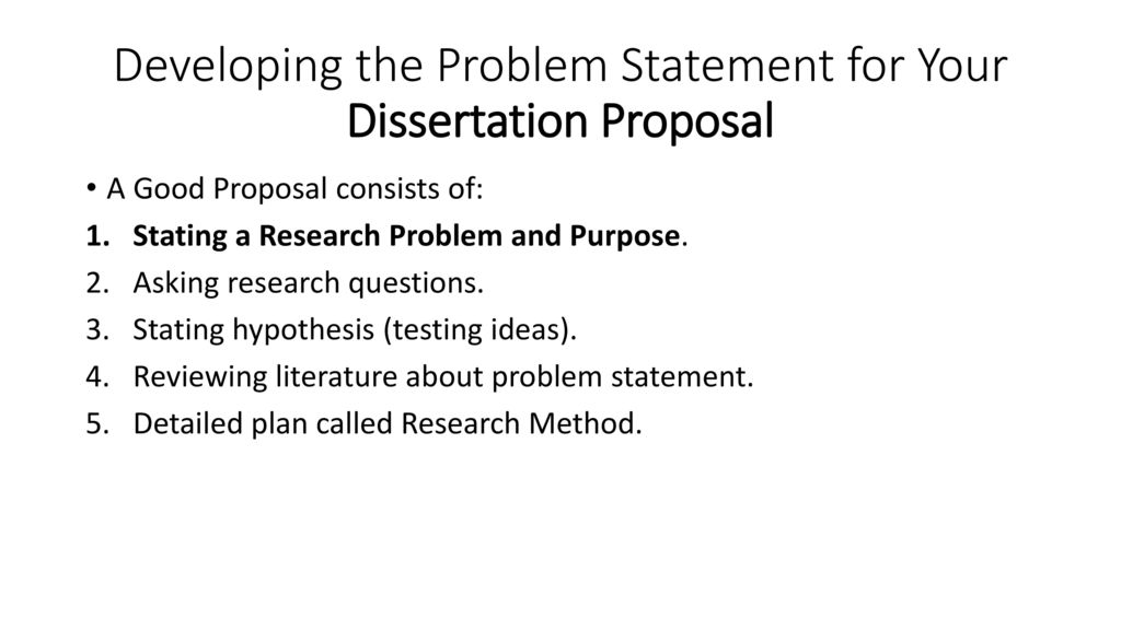 good dissertation questions