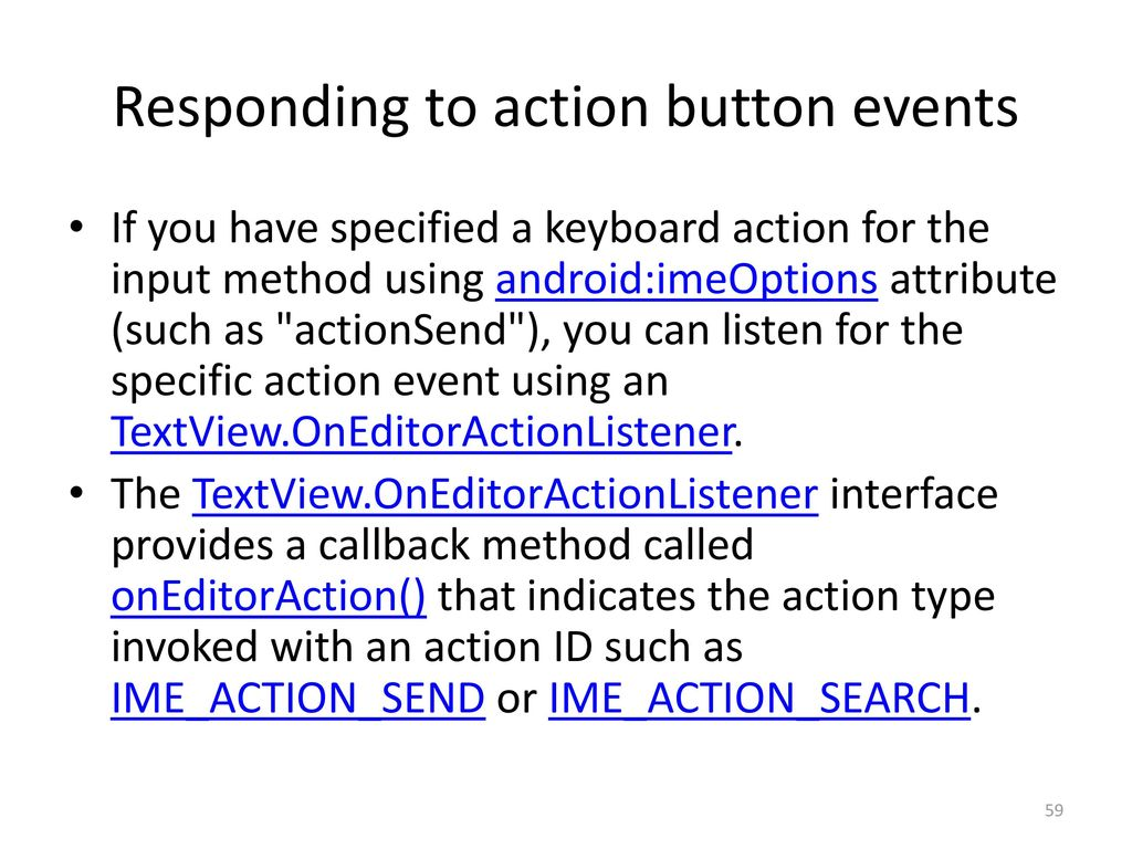 Android 12: Input Controls - ppt download