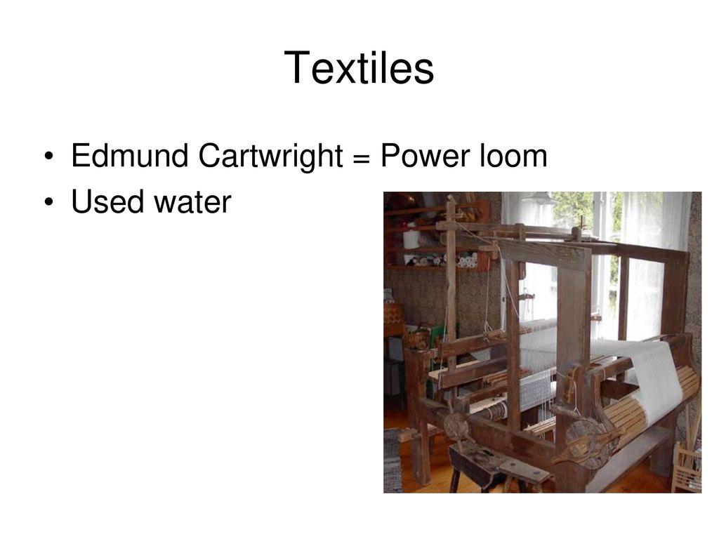 cartwrights power loom