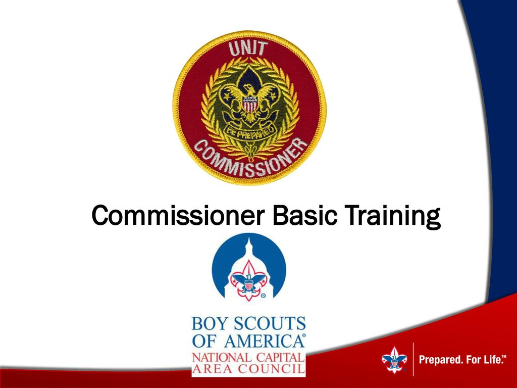 Bsa commissioner trained strip accept