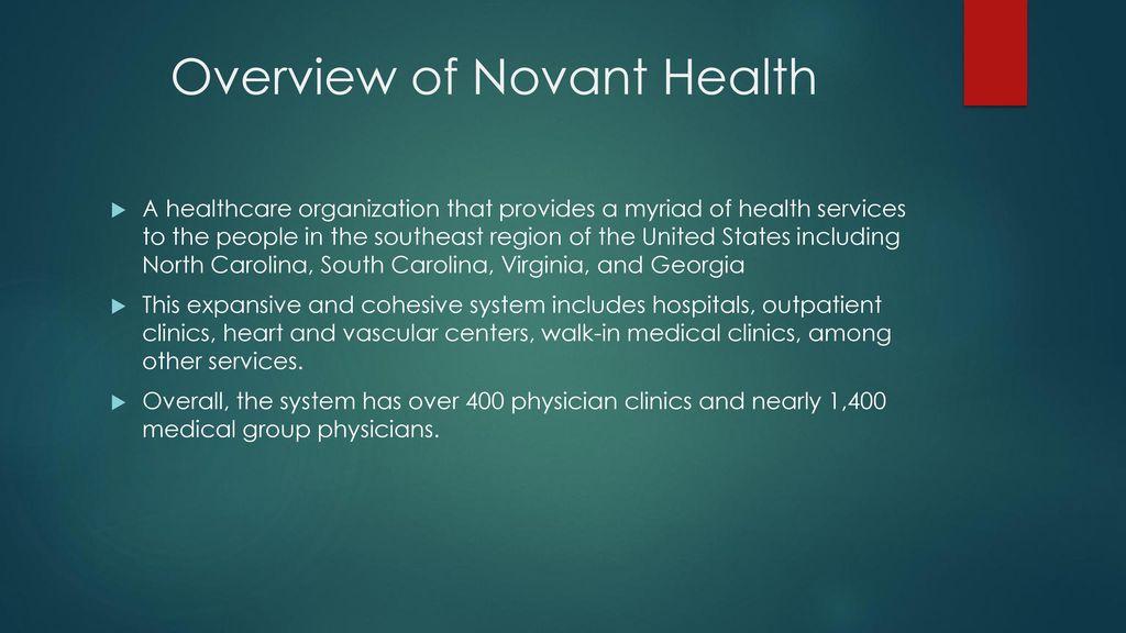 Novant Health Winston-Salem, NC  - ppt download