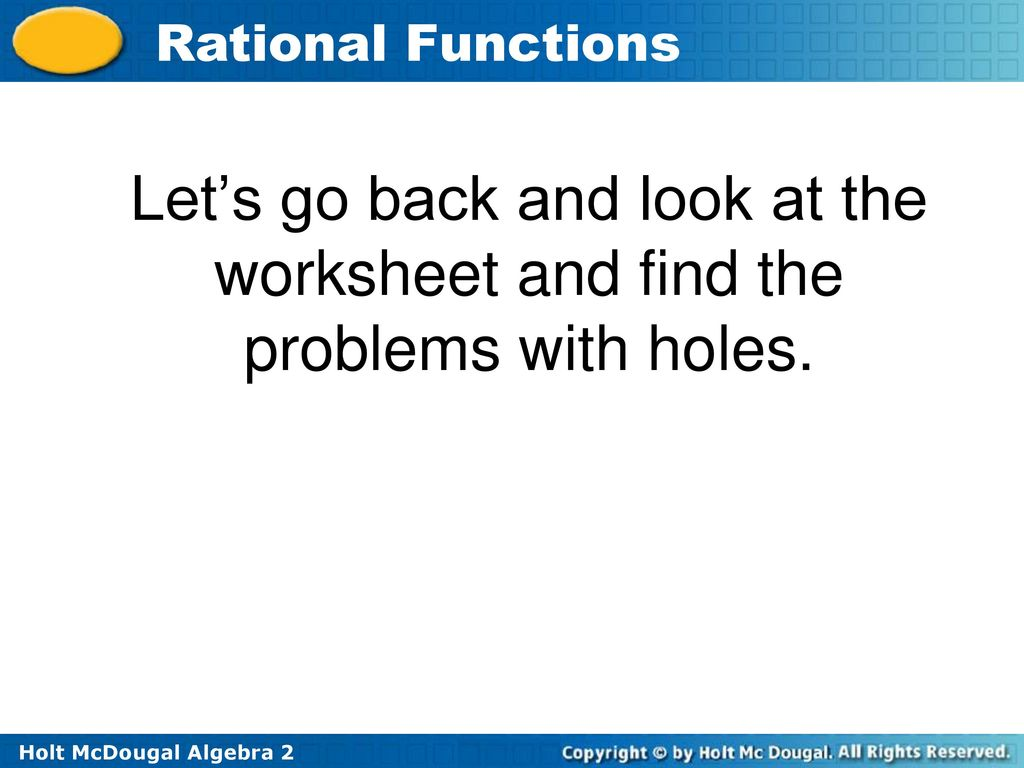 Summarize the Rational Function Task - ppt download