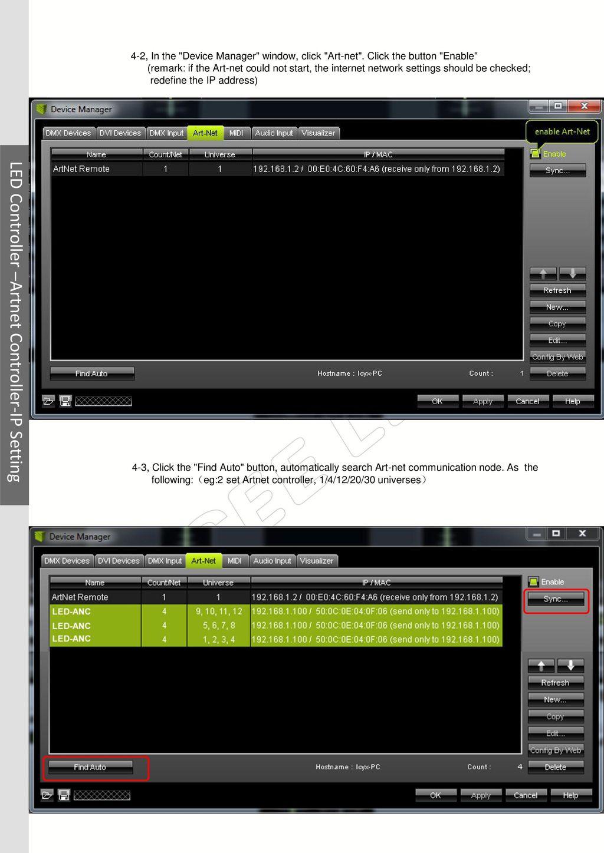 LED Controller –Artnet Controller-IP Setting - ppt download
