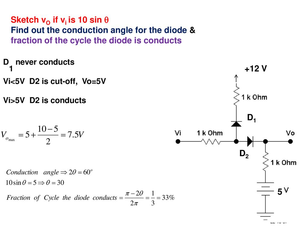 Diodes Ppt Download See Sketch For Diode Symbol And Picture Of Markings On A Typical 47 Vi5v