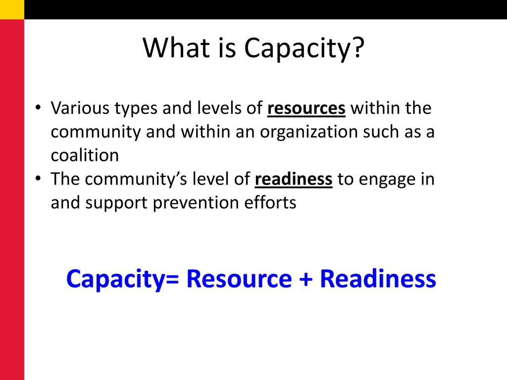 What is capacity 20