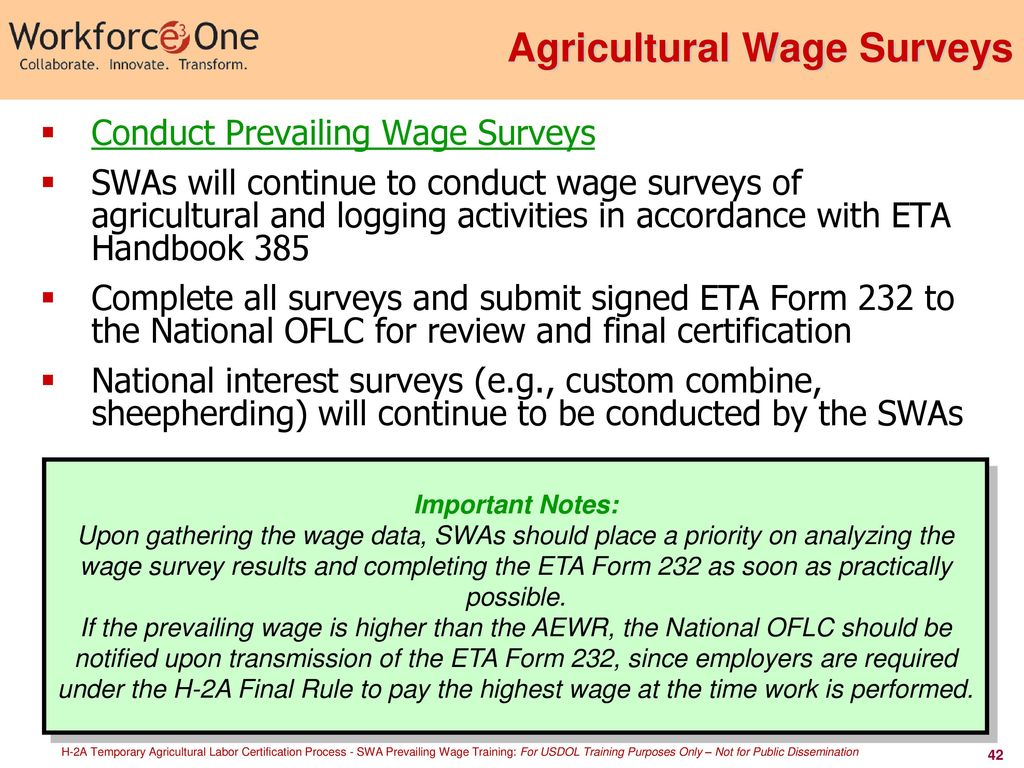 H 2a Temporary Agricultural Labor Certification Process Ppt Download