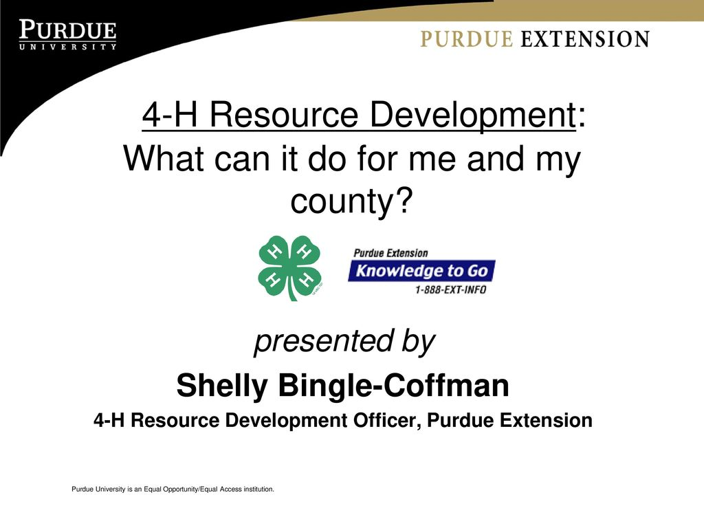 4 h resource development what can it do for me and my county ppt presentation transcript 1 4 h toneelgroepblik Image collections