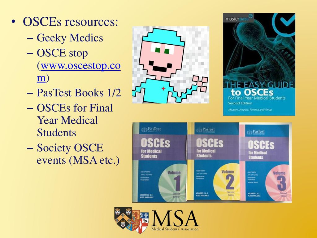 19 OSCEs ...