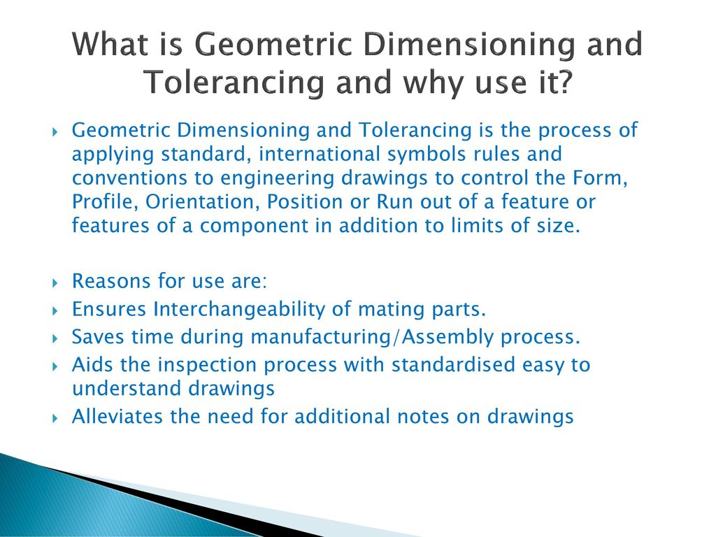 Geometric Dimensioning And Tolerancing Gdt Ppt Download
