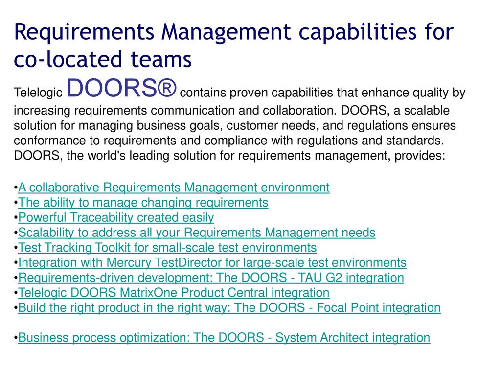 6 Requirements Management capabilities ...  sc 1 st  SlidePlayer & Requirements Management Tools - ppt download