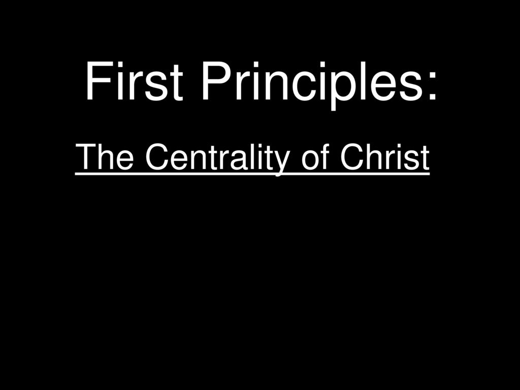 Image result for centrality of christ