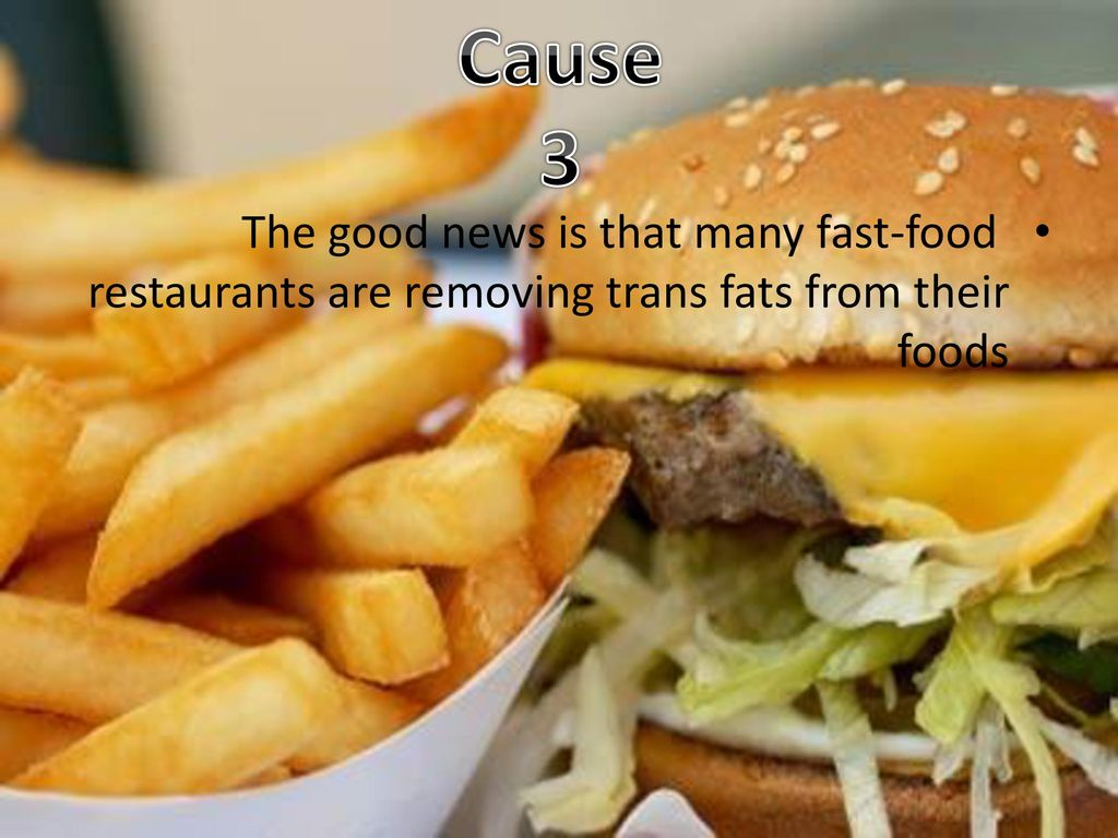 Eating fast food Causes and Effects Norah al azzaz  - ppt