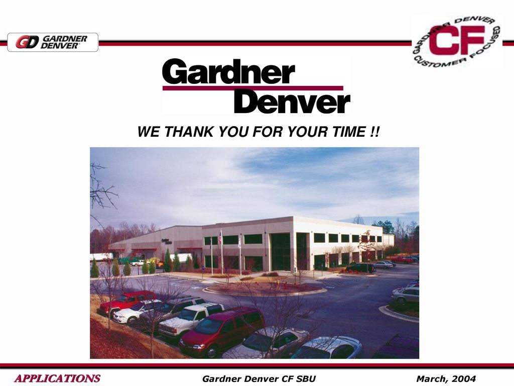 Gardner Denver Centrifugal Blowers Ppt Download Motor Wiring Diagram 57 We Thank You For Your Time