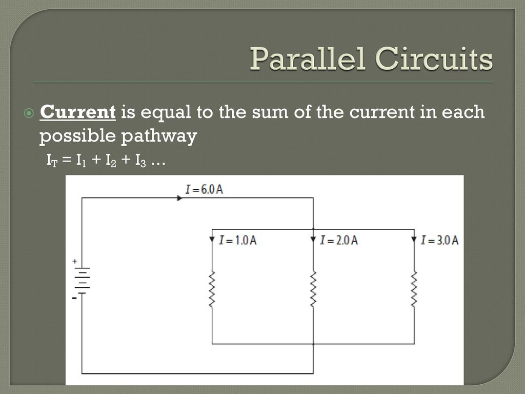 Series And Parallel Circuits Ppt Download Current 13