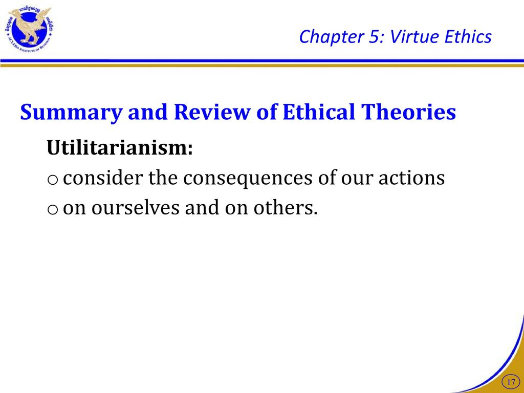 example of virtue ethics