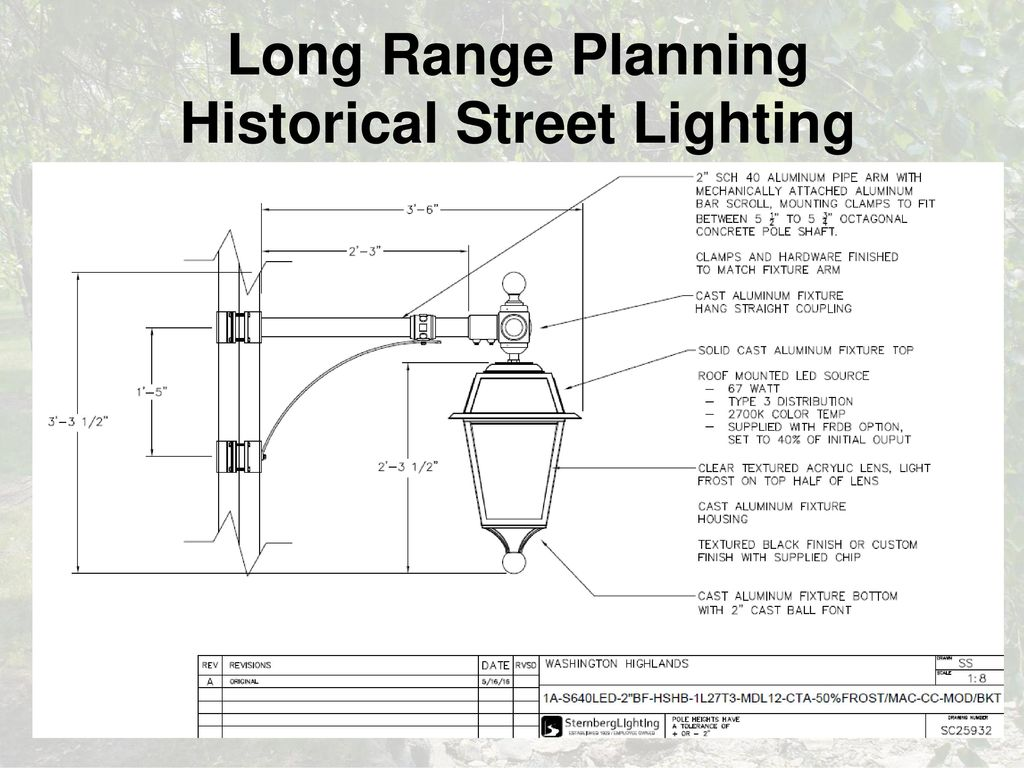 Current Wauwatosa Street Light Specification - ppt download
