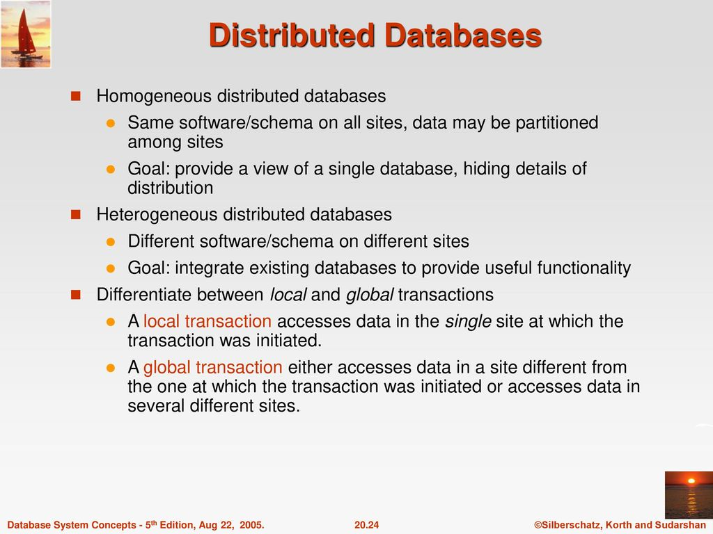 Chapter 20: Database System Architectures - ppt download
