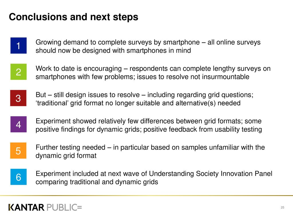 Adapting questionnaires for smartphones: - ppt download