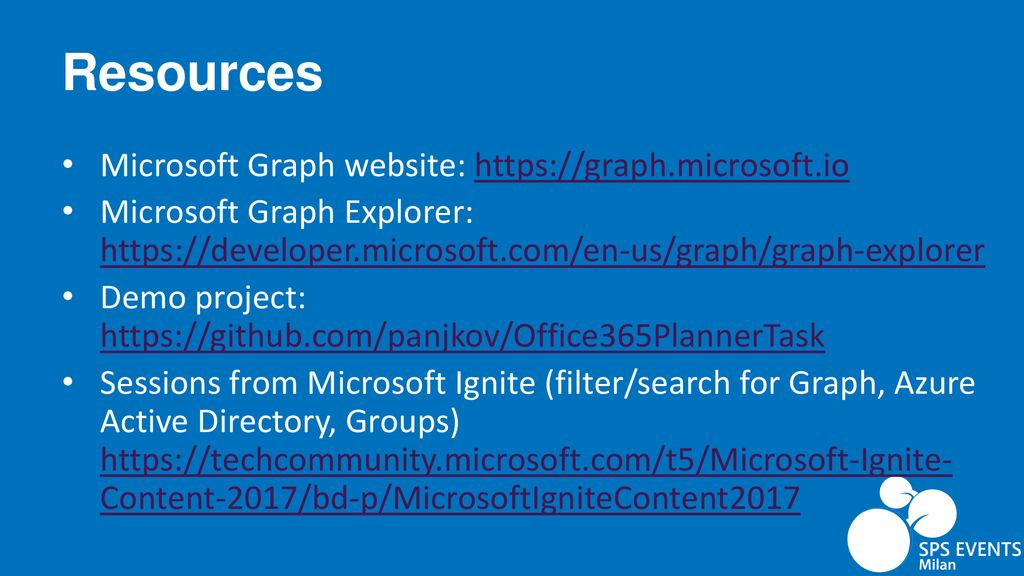 Office 365 Groups and Planner API - Getting Started - ppt