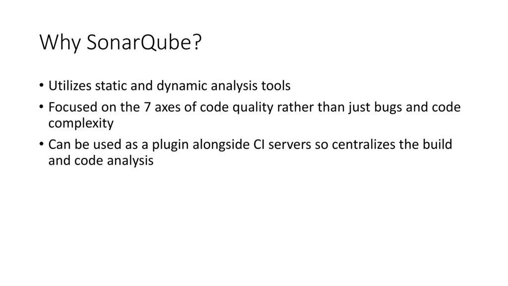 SonarQube and Sonatype Nexus IQ Server - ppt download