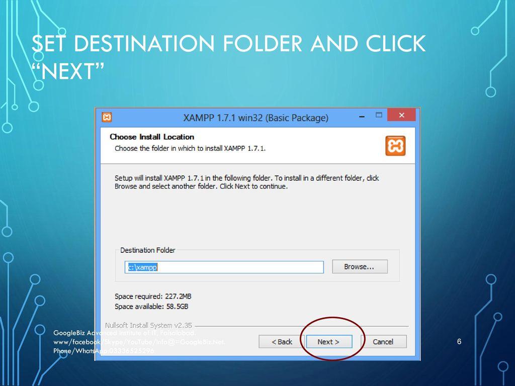 Install WordPress with Xampp - ppt download