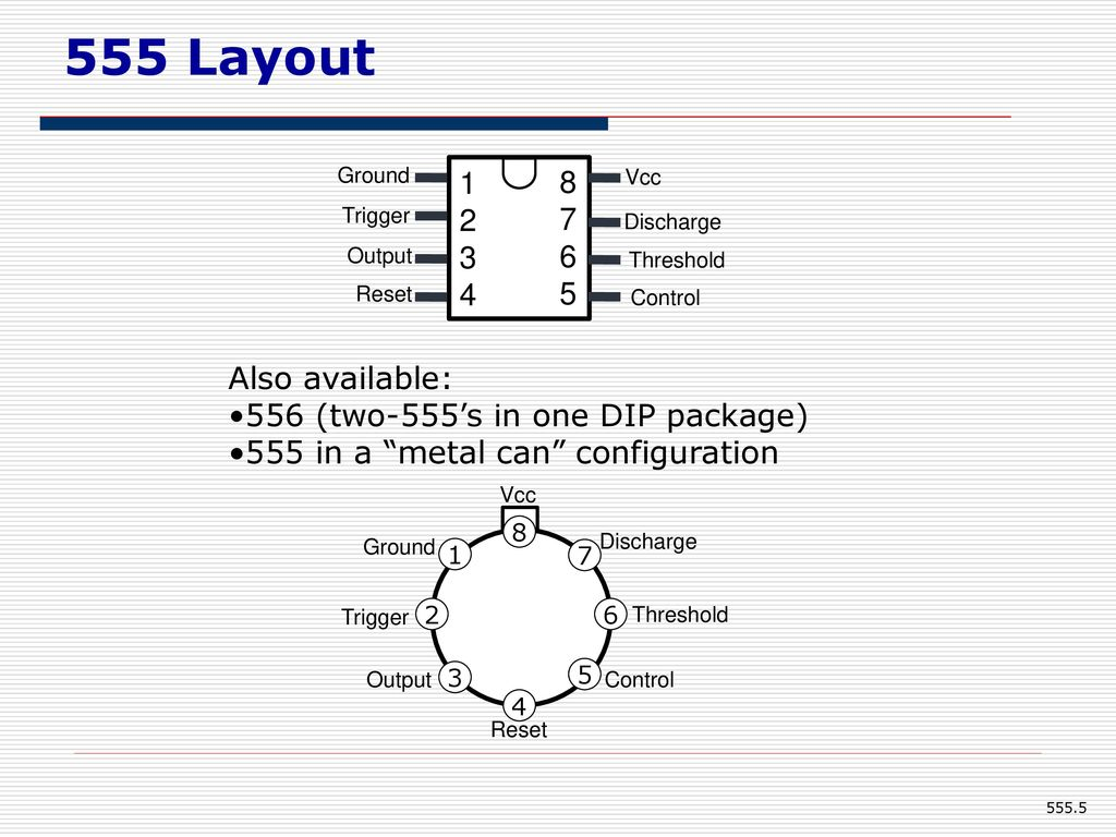 555 Timer Eee Department Kumpavat Harpal Ppt Download Two Simple Kits Utilising The Ne555 As An Oscillator And A 5