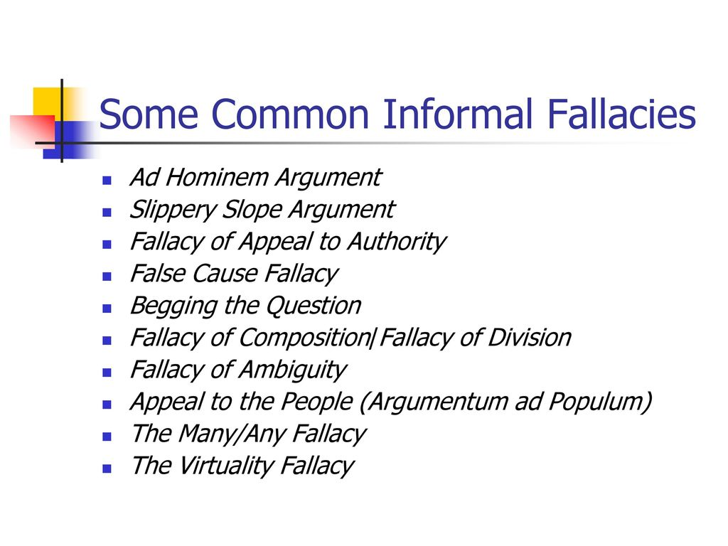 fallacy on slippery slope Avoiding the 'ethical slippery slope'  this begins the slide down the proverbial ethical slippery slope where it becomes more difficult to reverse course because.