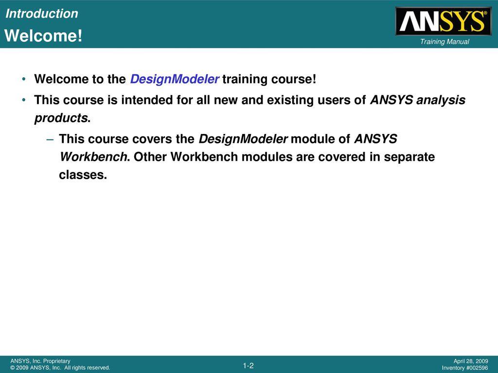 Ansys 18 Design Modeler