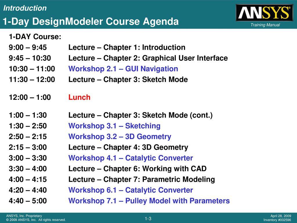 Chapter 1 Introduction DesignModeler  - ppt download