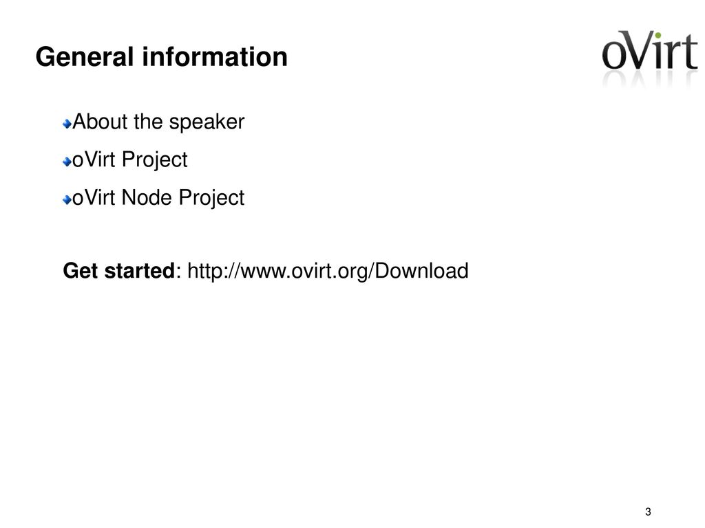 oVirt Node Project Douglas Schilling Landgraf - ppt download